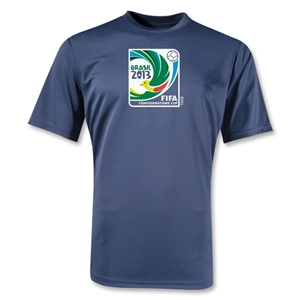 FIFA Confederations Cup 2013 Moisture Wicking Emblem T-Shirt (Navy)