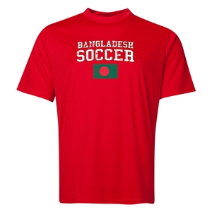 Bangladesh Soccer Training T-Shirt (Red)