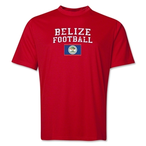 Belize Football Training T-Shirt (Red)