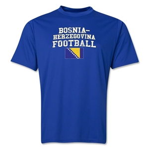 Bosnia-Herzegovina Football Training T-Shirt (Royal)