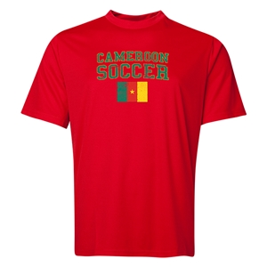 Cameroon Soccer Training T-Shirt (Red)