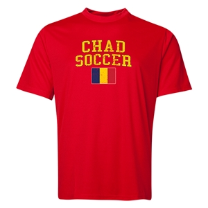 Chad Soccer Training T-Shirt (Red)