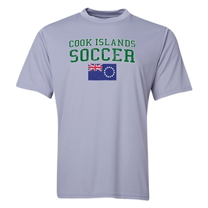 Cook Islands Soccer Training T-Shirt (Grey)