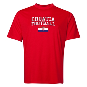Croatia Football Training T-Shirt (Red)