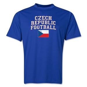Czech Republic Football Training T-Shirt (Royal)