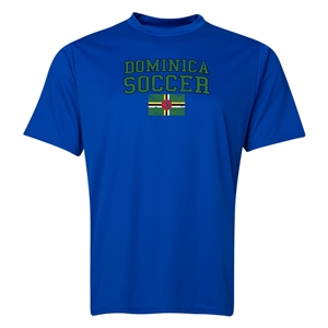 Dominica Soccer Training T-Shirt (Royal)