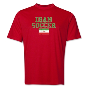 Iran Soccer Training T-Shirt (Red)