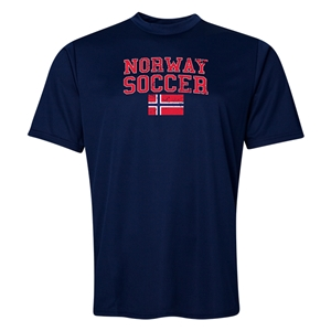 Norway Soccer Training T-Shirt (Navy)