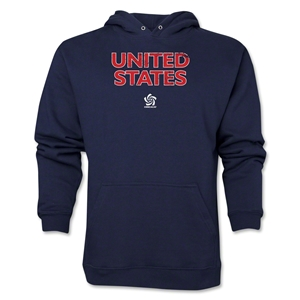 USA CONCACAF Distressed Hoody (Navy)