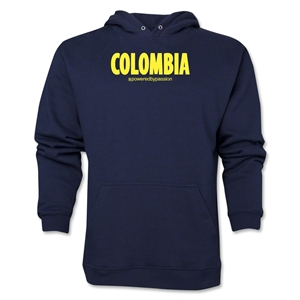 Colombia Powered by Passion Hoody (Navy)