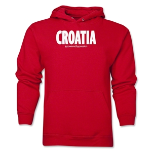 Croatia Powered by Passion Hoody (Red)