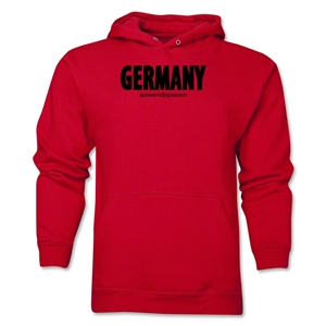 Germany Powered by Passion Hoody (Red)