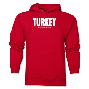 Turkey Powered by Passion Hoody (Red)