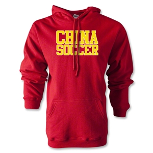 China Soccer Supporter Hoody (Red)