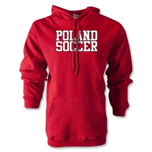 Poland Soccer Supporter Hoody (Red)