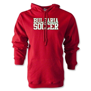 Bulgaria Soccer Supporter Hoody (Red)