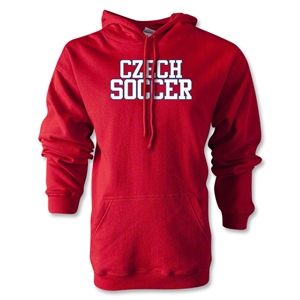 Czech Soccer Supporter Hoody (Red)