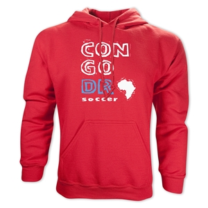 Congo DR Country Hoody (Red)