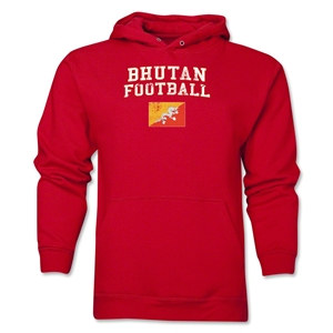 Bhutan Football Hoody (Red)