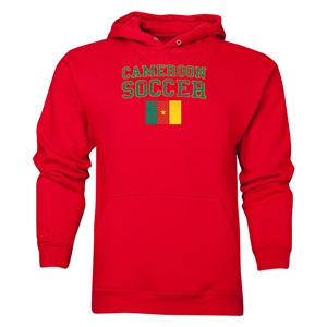 Cameroon Soccer Hoody (Red)