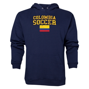 Colombia Soccer Hoody (Navy)