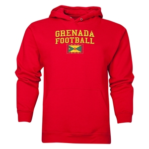Grenada Football Hoody (Red)