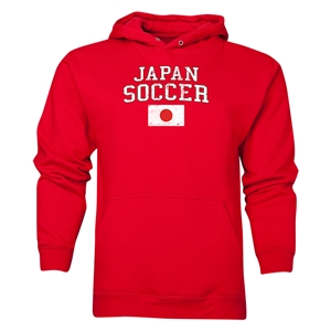 Japan Soccer Hoody (Red)