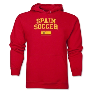 Spain Soccer Hoody (Red)