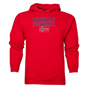 Norway Football Hoody (Red)