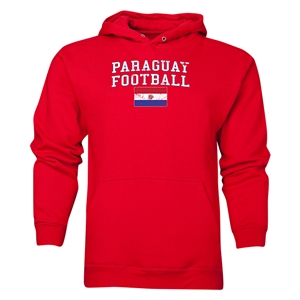 Paraguay Football Hoody (Red)