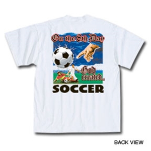 8th Day Soccer T-Shirt (White)