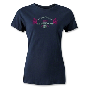 FC Barcelona 1899 Women's T-Shirt (Navy)