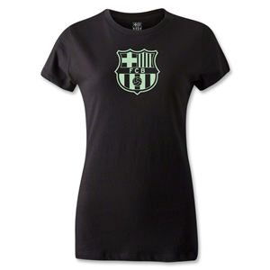Barcelona Badge Women's T-Shirt (Black)