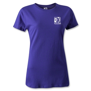 FIFA Confederations Cup 2013 Women's Small Emblem T-Shirt (Purple)