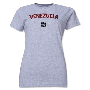 Venezuela FIFA U-17 Women's World Cup Costa Rica 2014 Women's Core T-Shirt (Grey)