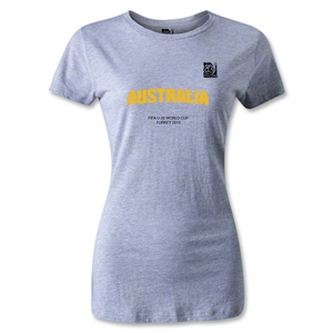 FIFA U-20 World Cup 2013 Women's Australia T-Shirt (Gray)