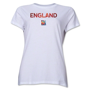FIFA Women's World Cup Canada 2015(TM) Women's French Event Emblem T-Shirt (White)