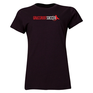 Grassroot Soccer Women's T-Shirt (Black)