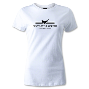 Newcastle United Print Women's T-Shirt (WHite)