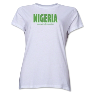 Nigeria Powered by Passion Women's T-Shirt (White)