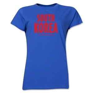 South Korea Powered by Passion Women's T-Shirt (Royal)