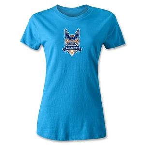 Carolina Railhawks Women's T-Shirt (Turquoise)