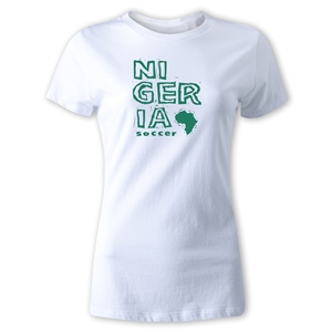 Nigeria Women's Country T-Shirt (White)
