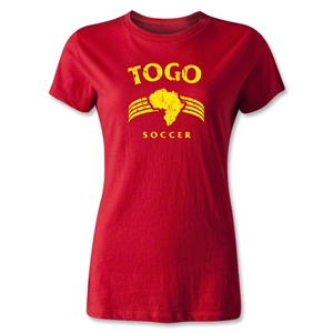 Togo Women's Country T-Shirt (Red)