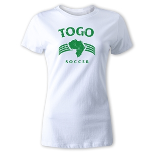 Togo Women's Country T-Shirt (White)