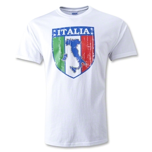 Italia Shield T-Shirt (White)