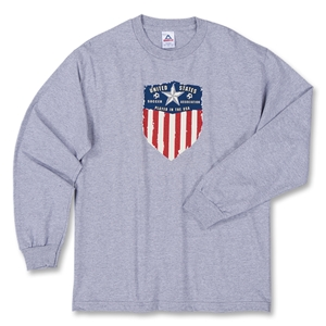 USA Soccer Association LS T-Shirt (Dark Grey)