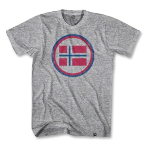 Norway Vintage Crest T-Shirt (Gray)