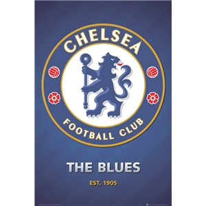 Chelsea 2013 Crest Poster