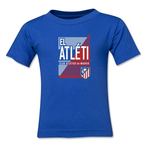 Atletico Madrid El Atleti Kids T-Shirt (Royal)